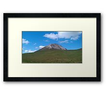 Mount Errigal- Donegal,Ireland Framed Print