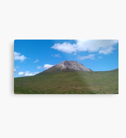 Mount Errigal- Donegal,Ireland Metal Print