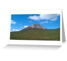 Mount Errigal- Donegal,Ireland Greeting Card