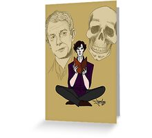Sherlock & Friends Greeting Card