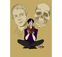 Sherlock & Friends Photographic Print
