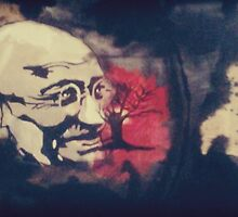 Ghandi by Candicealise21