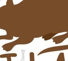 CRAZY RAT LADY Sticker
