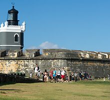 El Morro Lighthouse by Mark Prior