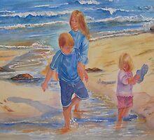 Beach Fun by bevmorgan