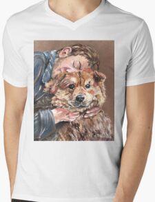 Best Friend Mens V-Neck T-Shirt