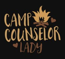 Camp Counselor Lady Baby Tee
