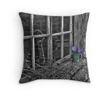 Morning's Glory 2 Throw Pillow