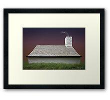 Cottage in Wales Framed Print