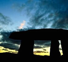 DUSK OVER LANYON QUOIT by PlanetPenwith