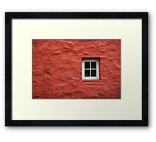 Cottage in Wales - Abstract #1 Framed Print