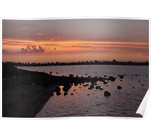 Sunset at NorthArm Poster