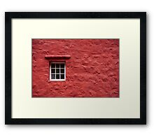 Cottage in Wales - Abstract #2 Framed Print