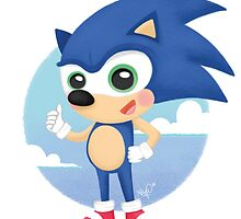 Sonic  by AnaFonseca