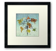 Earth Tree (The Beginnings) Framed Print