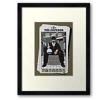 THE EMPEROR Framed Print