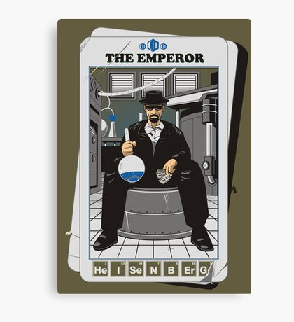 THE EMPEROR Canvas Print