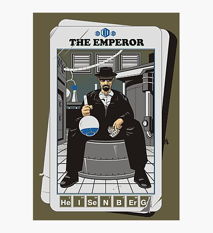 THE EMPEROR Photographic Print