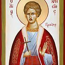 St Chrestos of Preveza the New Martyr by ikonographics