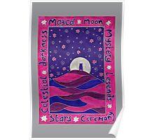 Moonlit Tor Poster