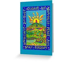 Sunlit Tor Greeting Card