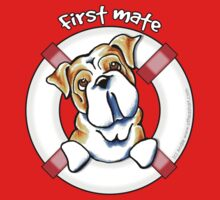 English Bulldog :: First Mate by offleashart