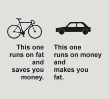 Difference between bikes and cars by MrYum