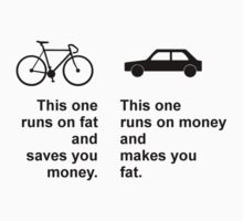 Difference between bikes and cars Kids Clothes
