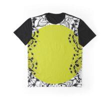 Mandala yellow Graphic T-Shirt