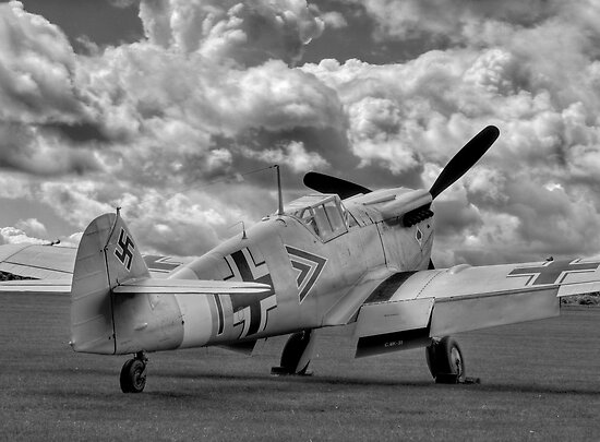 Storm Clouds Gathering - Duxford Flying Legends 2012 by Colin  Williams Photography