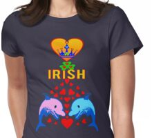 ㋡♥♫Love Irish Fantabulous Clothing & Stickers♪♥㋡ Womens Fitted T-Shirt
