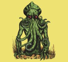 Cthulu Attacks colour Version by Extreme-Fantasy