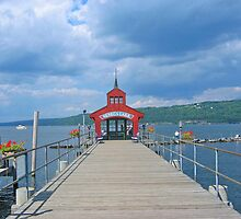 Seneca Lake Pier by Jack Ryan