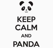 Keep Calm and Panda T-Shirt