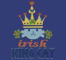 ???Irish King Cat Fantabulous Clothing & Stickers??? by Fantabulous
