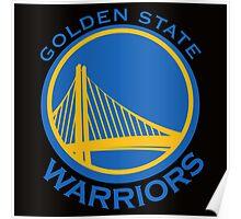NBA - Warriors Poster