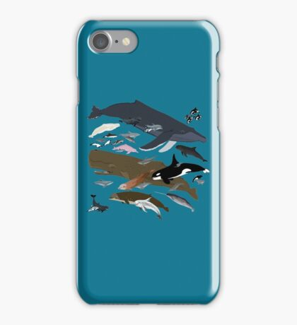 I Am Thankful For Cetaceans iPhone Case/Skin