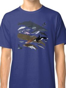 I Am Thankful For Cetaceans Classic T-Shirt