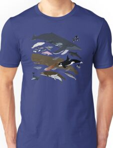 I Am Thankful For Cetaceans Unisex T-Shirt