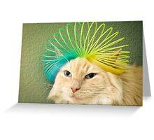 Slinky Max Greeting Card