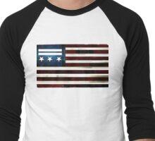 DC Statehood I Men's Baseball ¾ T-Shirt