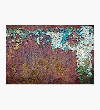 Paint mosaic Photographic Print