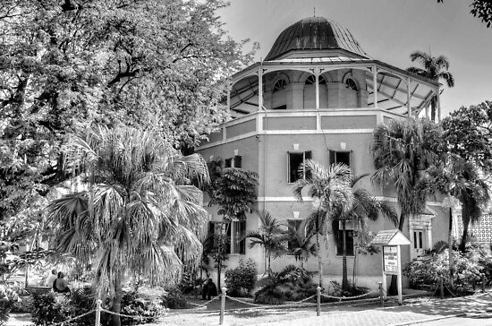 The Nassau Public Library in Shirley Street, The Bahamas by 242Digital