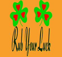 ㋡♥♫Rub your Luck Fantabulous Clothing & Stickers♪♥㋡ Womens Fitted T-Shirt