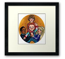 THEIR FRIEND TO THE END Framed Print