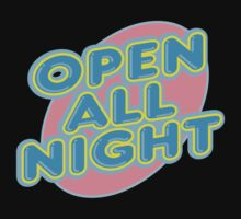 "Bowling ""OPEN ALL NIGHT"" Kids Tee"