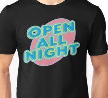 "Bowling ""OPEN ALL NIGHT"" Unisex T-Shirt"