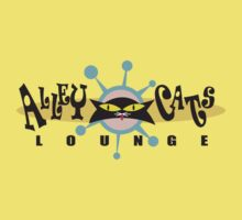 "Bowling ""Alley Cats Lounge"" Retro One Piece - Short Sleeve"