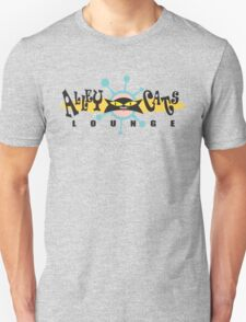 """Bowling """"Alley Cats Lounge"""" Retro T-Shirt"""