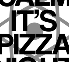 Keep Calm - Pizza Night Thursday Sticker